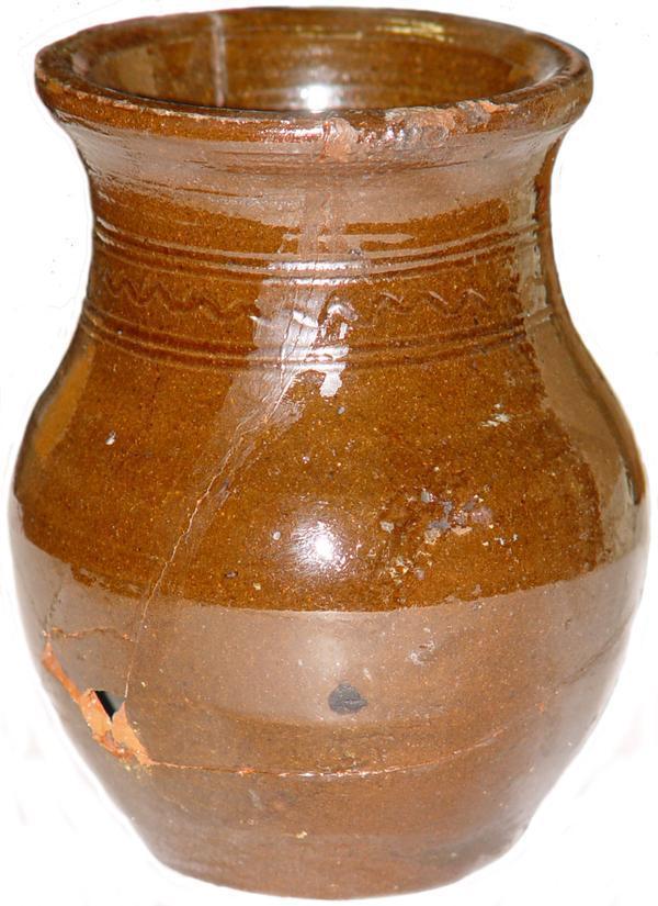 керамический вазончик 1900 год
