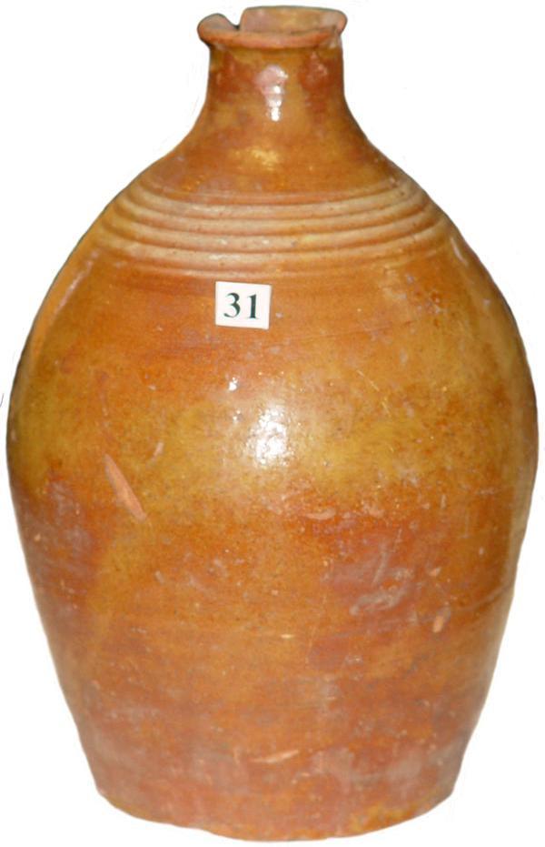 керамический кувшин из города бердска